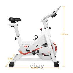 Spin Exercise Bike Home Gym Bicycle Cycling Fitness Workout Cardio Training