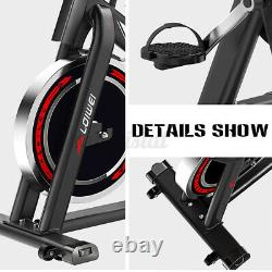 Spin Home Gym Exercise Bike Cardio Workout Fitness Machine Load-bearing 150 KG