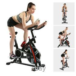 Trainer Bikes Heavy Duty Exercise Cycling Cardio Indoor Fitness Training Black