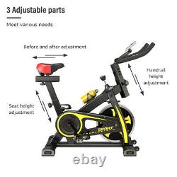 ULTRAPOWER Exercise Spin Bike Home Fitness Workout Cardio Machine LCD Display