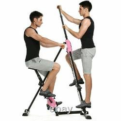 Vertical Climber Steppers Indoor Fitness Stair Machine Exercise Bike Cardio Home