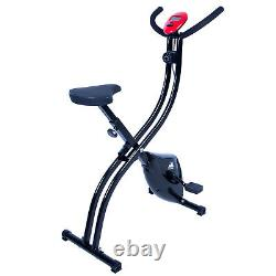 X/S-Type Folding Exercise Bike Magnetic Lose Weight Cardio Machine Cycling Home